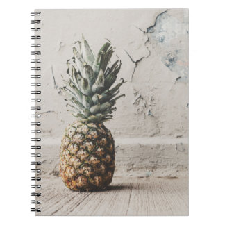 Modern Urban Pineapple Spiral Notebook