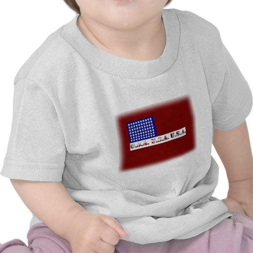 Modern USA Flag Graphic Memorial Day T-shirts