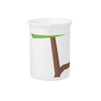 Modern Vector Plant Drink Pitchers