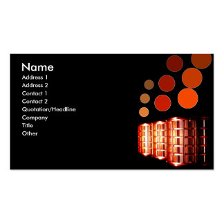 Modern Vents Double-Sided Standard Business Cards (Pack Of 100)