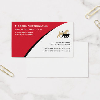 Veterinary business cards templates zazzle for Veterinarian business cards