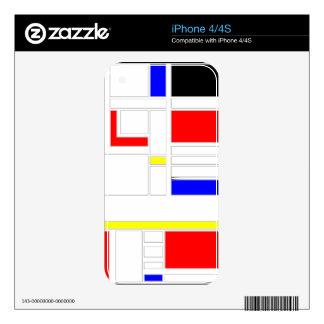 Modern Vibe 2 iPhone 4S Skin
