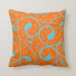 Modern & Vibrant Throw Pillow