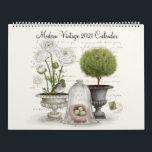 """Modern Vintage 2021 Calendar<br><div class=""""desc"""">Modern Vintage 2021 Calendar</div>"""
