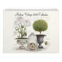 Modern Vintage 2021 Calendar