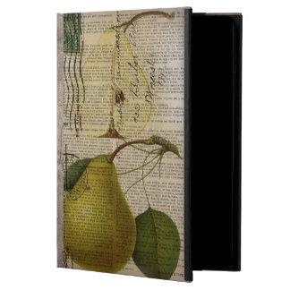 modern Vintage Botanical Print fruit pear iPad Air Cover