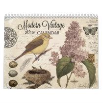 MODERN VINTAGE calendar