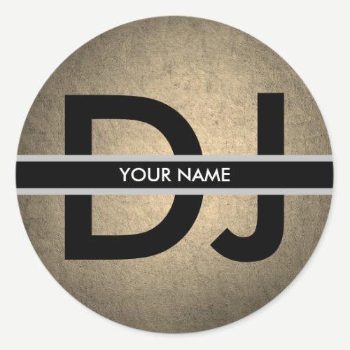 Modern Vintage DJ Sticker