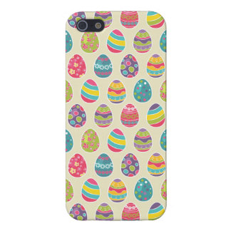 Modern Vintage Easter Eggs Decoration Pattern Cover For iPhone SE/5/5s