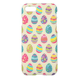 Modern Vintage Easter Eggs Decoration Pattern iPhone 7 Case