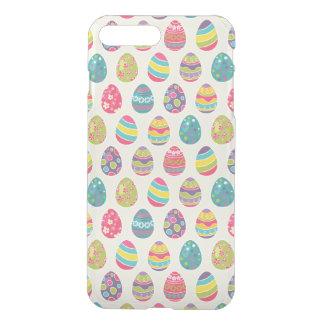 Modern Vintage Easter Eggs Decoration Pattern iPhone 7 Plus Case