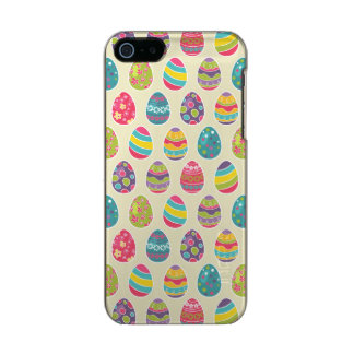 Modern Vintage Easter Eggs Decoration Pattern Metallic Phone Case For iPhone SE/5/5s