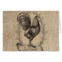 Modern vintage Farm Chicken french country rooster
