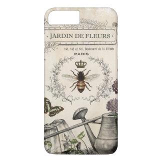 Modern Vintage French Bee garden iPhone 7 Plus Case