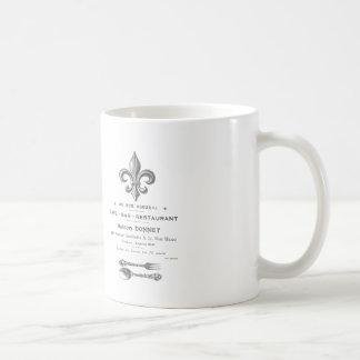 MODERN VINTAGE FRENCH BISTRO COFFEE MUG
