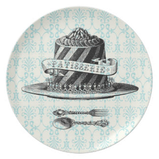 Modern Vintage French Cake plate