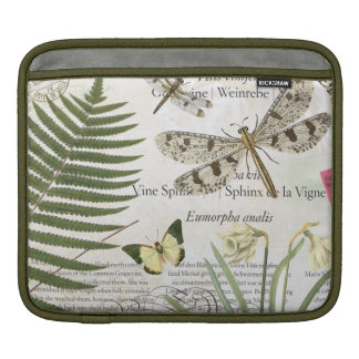 modern vintage french dragonfly sleeve for iPads