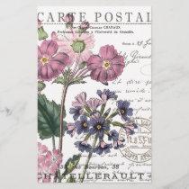 modern vintage french floral