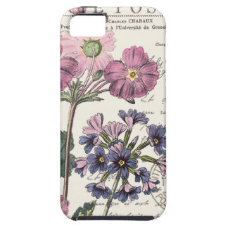 modern vintage french floral iPhone SE/5/5s case