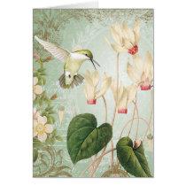 Modern Vintage French Hummingbirds