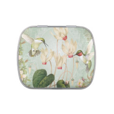 Modern Vintage French Hummingbirds Candy Tins at Zazzle