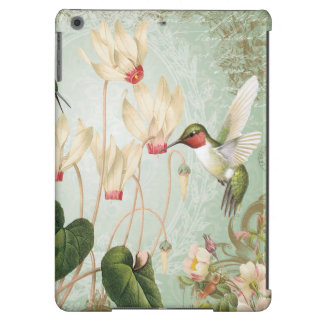 Modern Vintage French Hummingbirds iPad Air Case