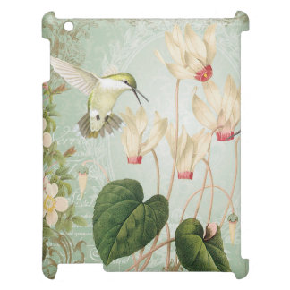 Modern Vintage French Hummingbirds iPad Covers