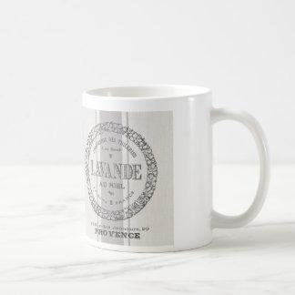modern vintage French Lavender grain sac Coffee Mug