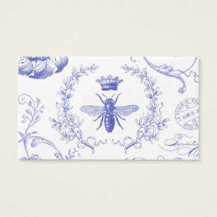 French vintage business cards templates zazzle modern vintage french queen bee business card reheart Gallery
