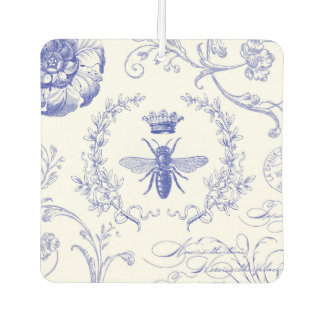 modern vintage french queen bee car air freshener