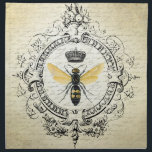 "modern vintage french queen bee cloth napkin<br><div class=""desc"">modern vintage french queen bee</div>"
