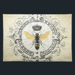 """modern vintage french queen bee cloth placemat<br><div class=""""desc"""">modern vintage french queen bee</div>"""