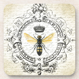 MODERN VINTAGE french queen bee Coaster