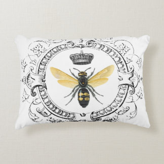 MODERN VINTAGE french queen bee Decorative Pillow