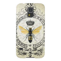 modern vintage french queen bee galaxy s5 cover