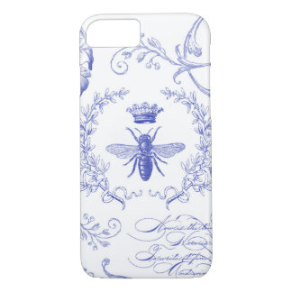 modern vintage french queen bee iPhone 8/7 case
