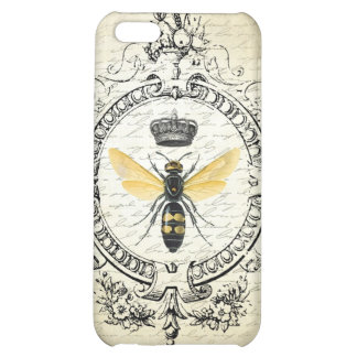 Modern vintage french queen bee iPhone 5C covers