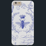"modern vintage french queen bee iphone case<br><div class=""desc"">modern vintage french queen bee iphone case</div>"