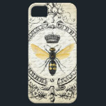 "Modern vintage french queen bee iPhone SE/5/5s case<br><div class=""desc"">Modern vintage french queen bee</div>"