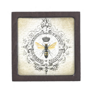 MODERN VINTAGE french queen bee Jewelry Box