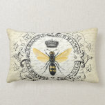 modern vintage french queen bee pillows