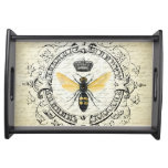 modern vintage french queen bee serving tray