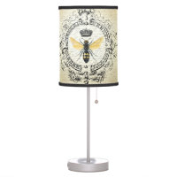 modern vintage french queen bee table lamp