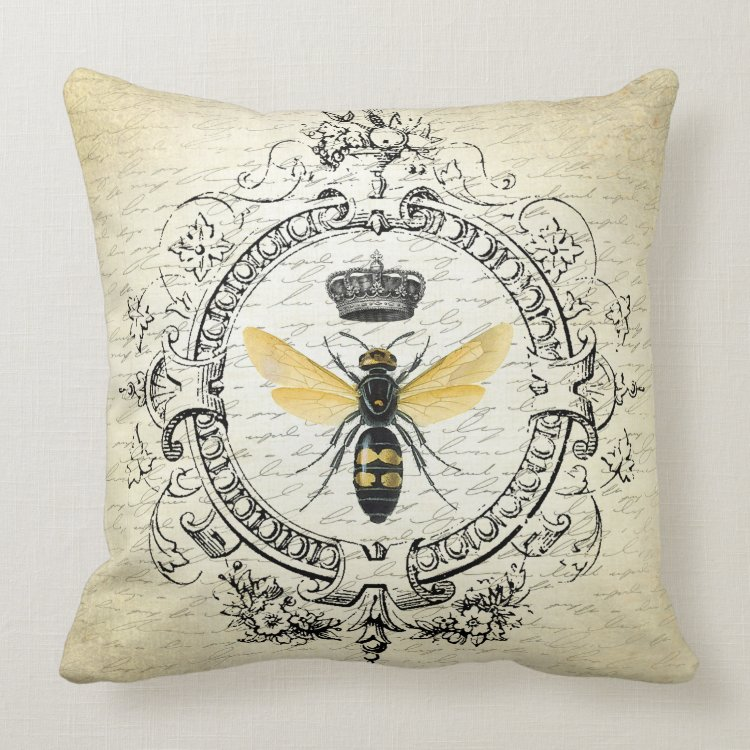 Modern vintage french queen bee