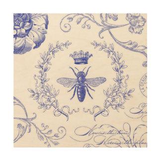 Vintage Queen Bee Art Framed Artwork