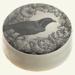 modern vintage halloween crow