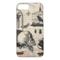 Modern Vintage Halloween Garden iPhone 8/7 Case