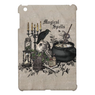 Modern vintage Halloween WITCHES BREW iPad Mini Covers