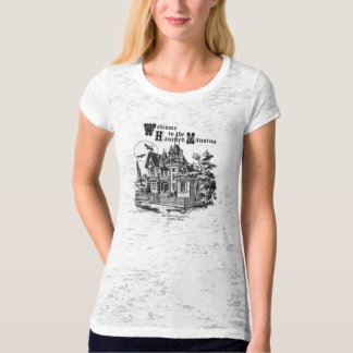 modern vintage haunted mansion T-Shirt
