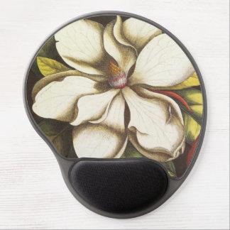 modern vintage magnolia gel mouse pad